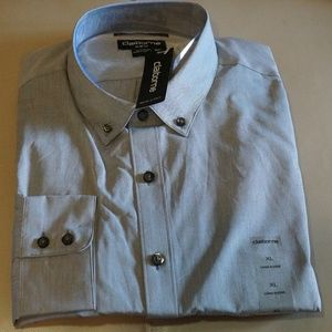 Claiborne - Slim-Fit Shirt (Grey)